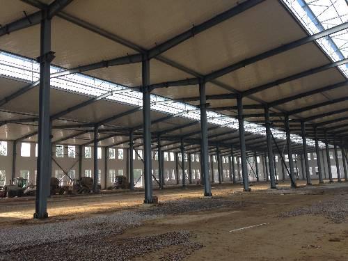 钢结构摇了摇头厂房6
